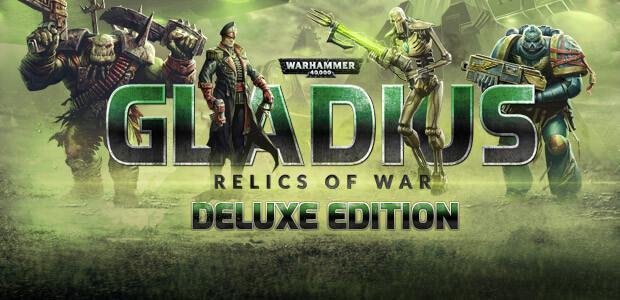 Warhammer 40,000: Gladius - Relics of War Deluxe - Cover / Packshot
