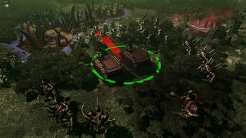 Screenshot4 - Warhammer 40,000: Gladius - Chaos Space Marines