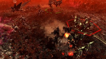 Screenshot3 - Warhammer 40,000: Gladius - Chaos Space Marines