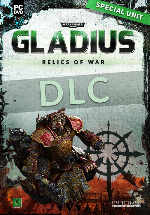 Warhammer 40,000: Gladius - Relics of War - Lord of Skulls - Cover / Packshot