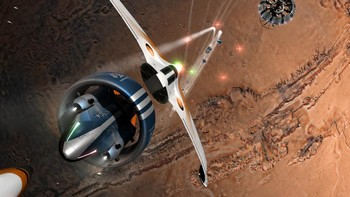 Screenshot1 - Orbital Racer