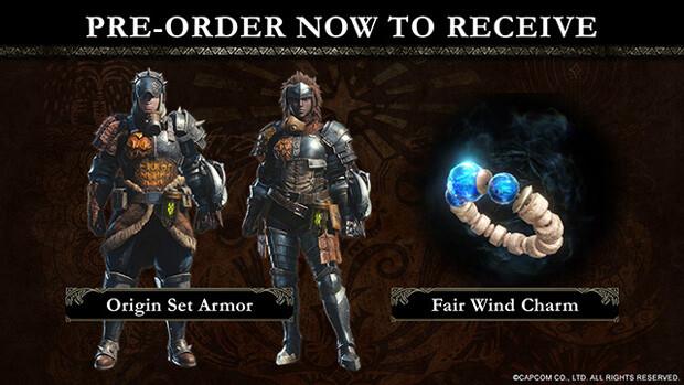 Monster Hunter World Pre-Order