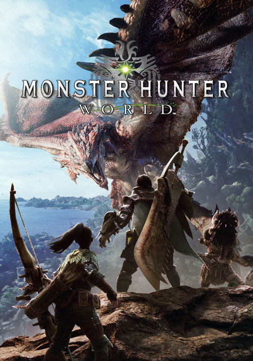 Monster Hunter World - Cover / Packshot