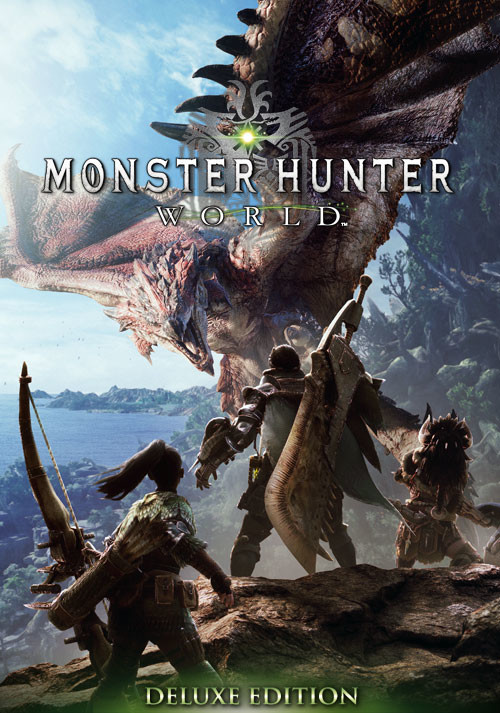 Monster Hunter: World - Deluxe Edition - Cover / Packshot