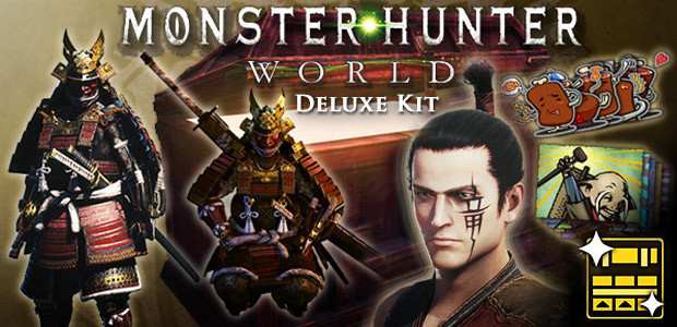 Monster Hunter World - Deluxe Kit - Cover / Packshot