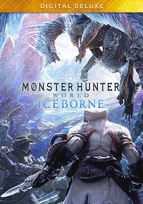 Monster Hunter World: Iceborne Digital Deluxe - Cover / Packshot