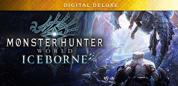 Monster Hunter World: Iceborne Digital Deluxe - Cover / Packshot