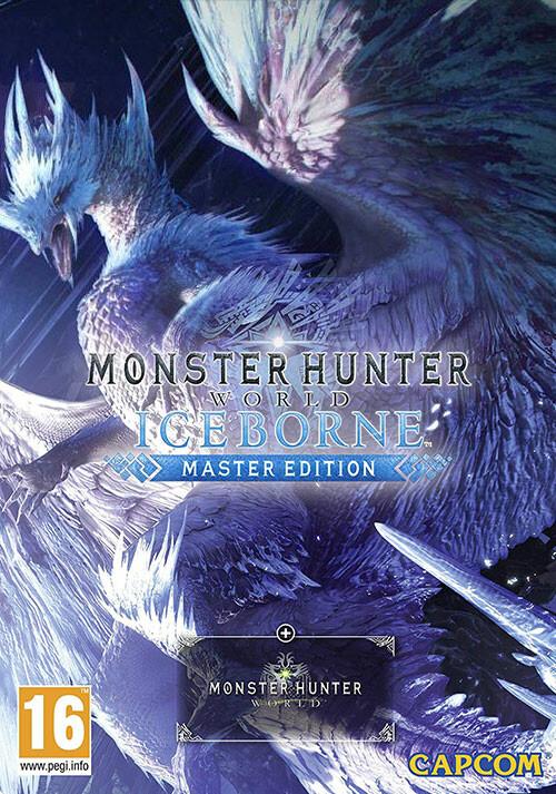 Monster Hunter World: Iceborne Master Edition - Cover / Packshot