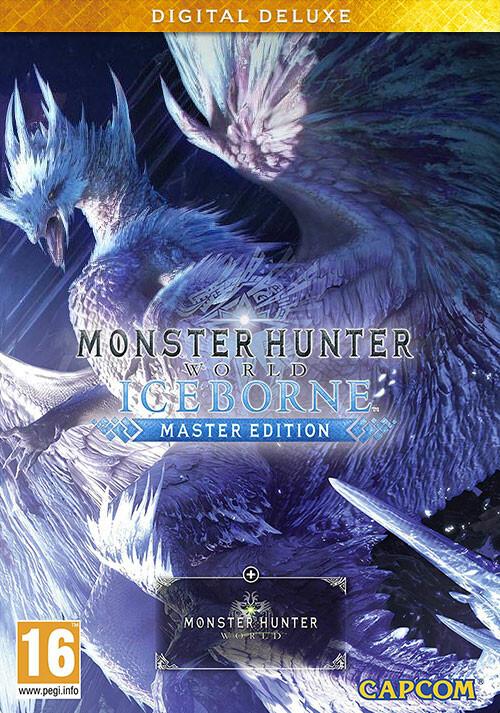 Monster Hunter World: Iceborne Master Edition - Deluxe - Cover / Packshot