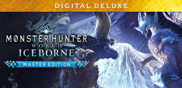 monster hunter world iceborne master edition cover