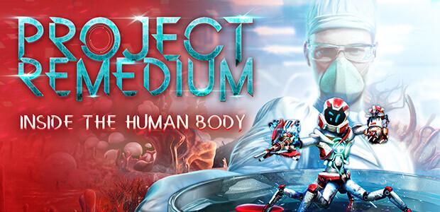 Project Remedium - Cover / Packshot