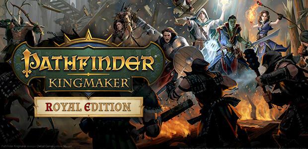 Pathfinder: Kingmaker - Royal Edition - Cover / Packshot