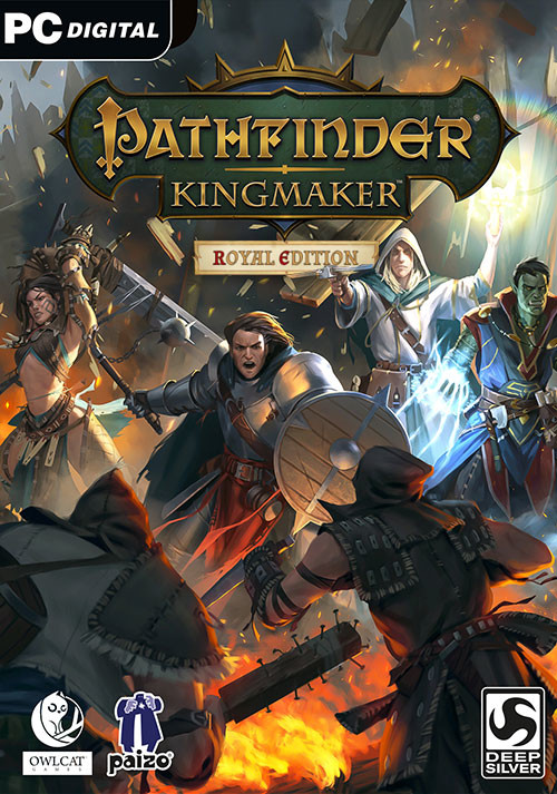 Pathfinder: Kingmaker - Royal Edition - Cover / Packshot