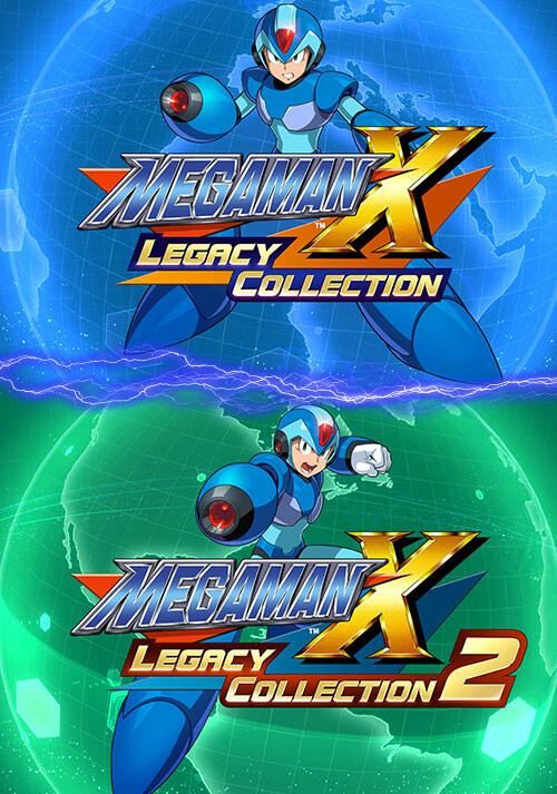 Mega Man X Legacy Collection 1+2 Bundle / ロックマンX アニバーサリー コレクション 1+2 バンドル - Cover