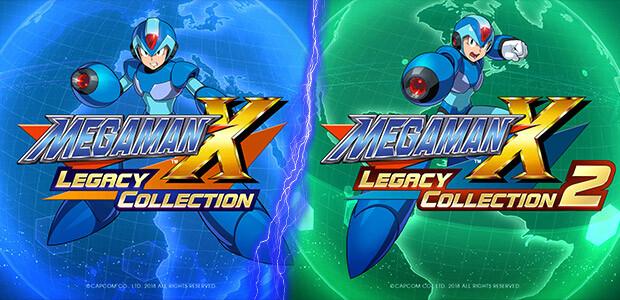 Mega Man X Legacy Collection 1+2 Bundle - Cover / Packshot