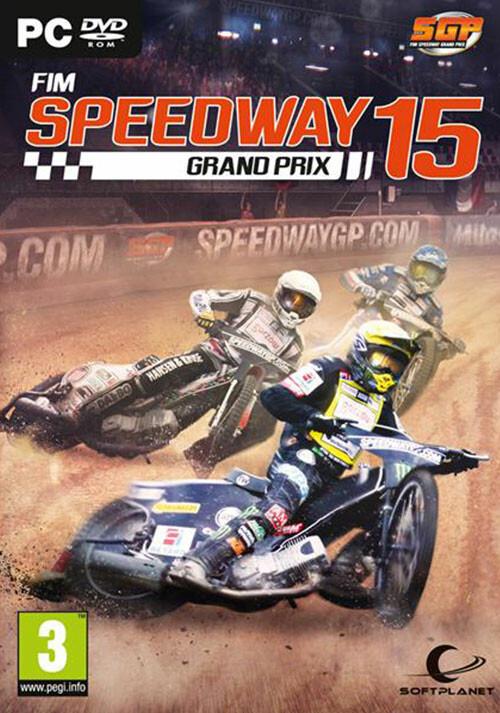 FIM Speedway Grand Prix 15 - Cover