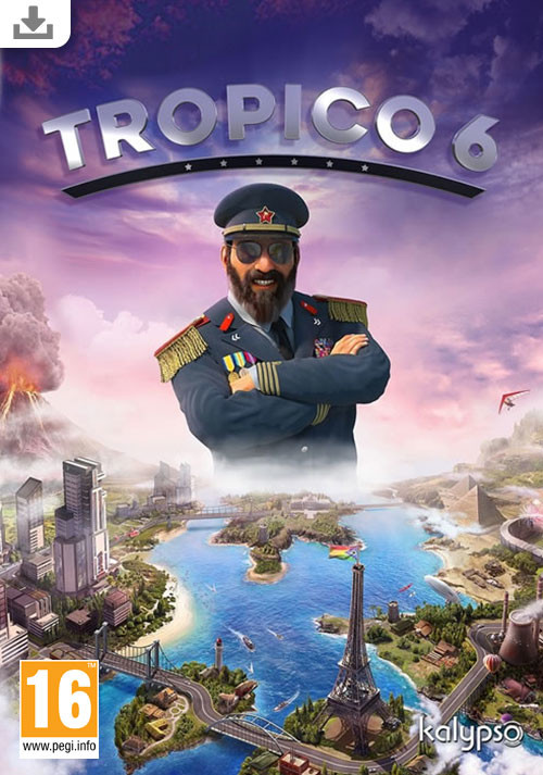 Tropico 6 - Cover / Packshot