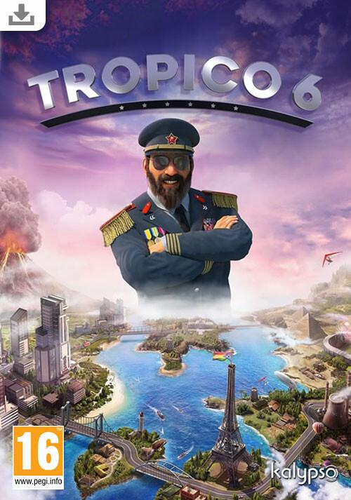 Tropico 6 - Cover