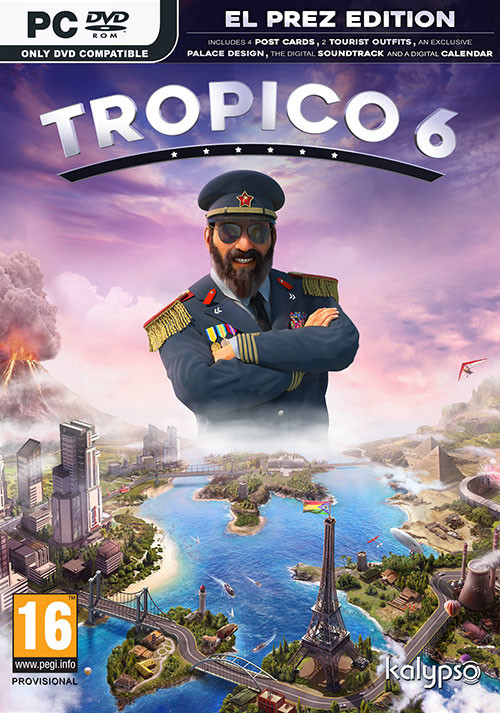 Tropico 6 El Prez Edition - Cover / Packshot