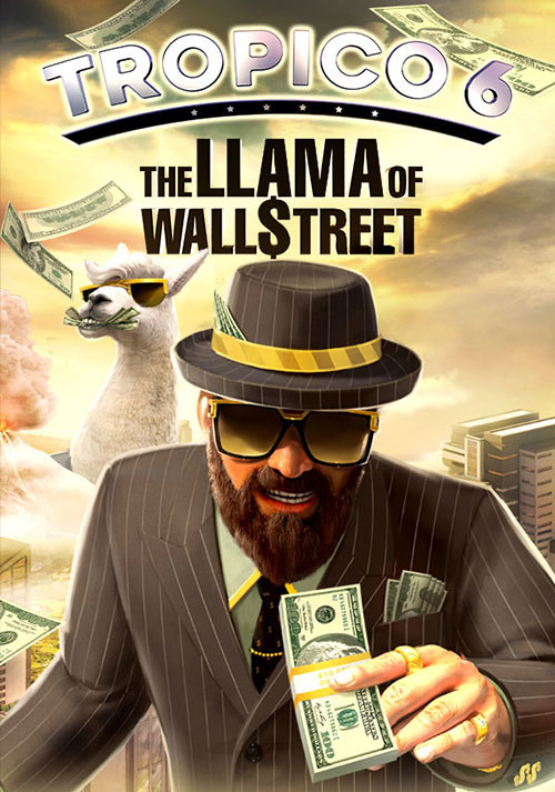 Tropico 6 - Llama of Wall Street - Cover / Packshot