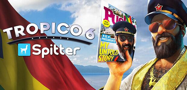Tropico 6 - Spitter - Cover / Packshot