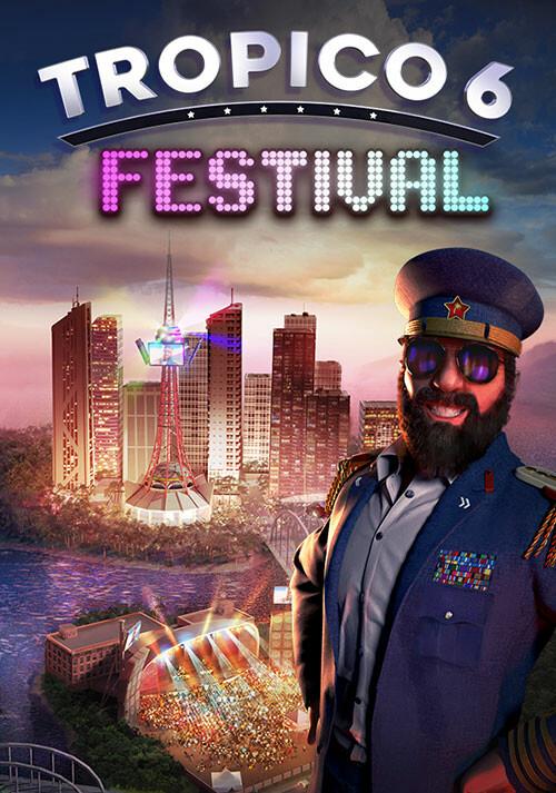Tropico 6 - Festival - Cover / Packshot