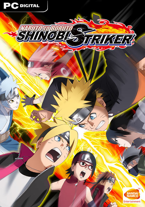 NARUTO TO BORUTO: SHINOBI STRIKER - Cover