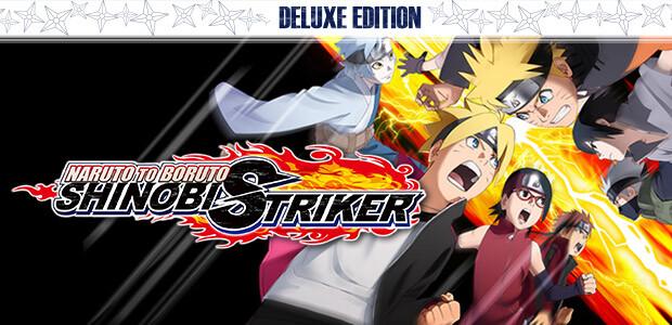 NARUTO TO BORUTO: SHINOBI STRIKER Deluxe Edition - Cover / Packshot