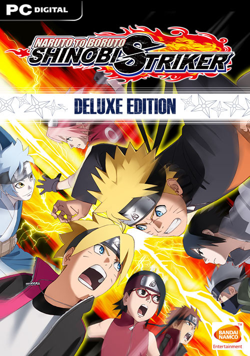 NARUTO TO BORUTO: SHINOBI STRIKER Deluxe Edition - Cover