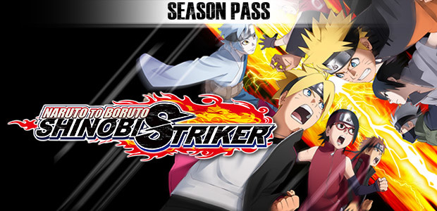 NARUTO TO BORUTO: SHINOBI STRIKER Season Pass - Cover / Packshot