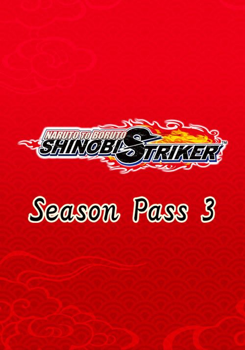 NARUTO TO BORUTO: SHINOBI STRIKER Season Pass 3 - Cover / Packshot