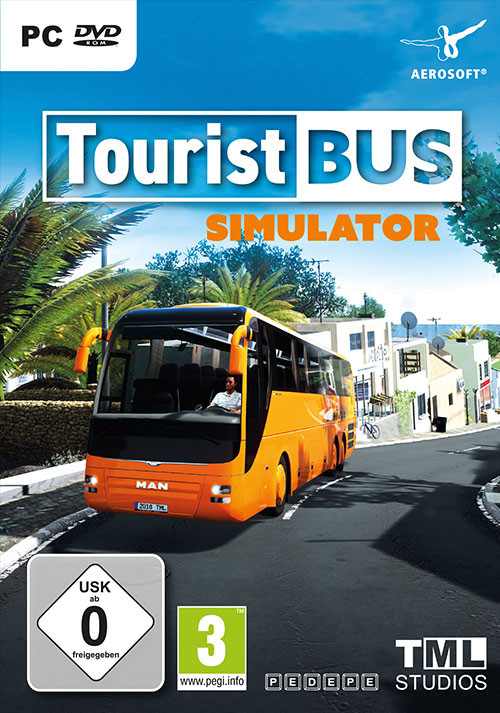Tourist Bus Simulator - Cover / Packshot