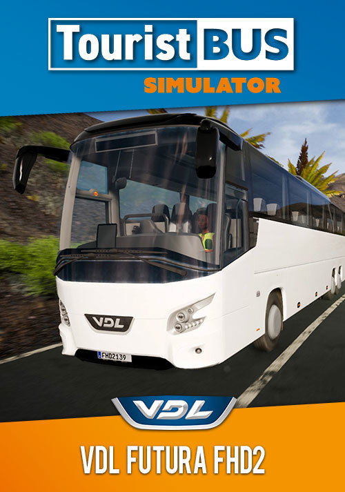Tourist Bus Simulator - VDL Futura FHD2 - Cover / Packshot