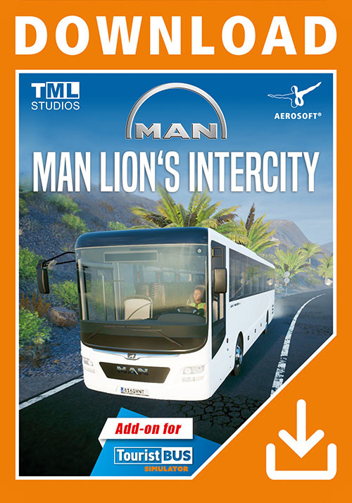 Tourist Bus Simulator - MAN Lion's Intercity - Cover / Packshot