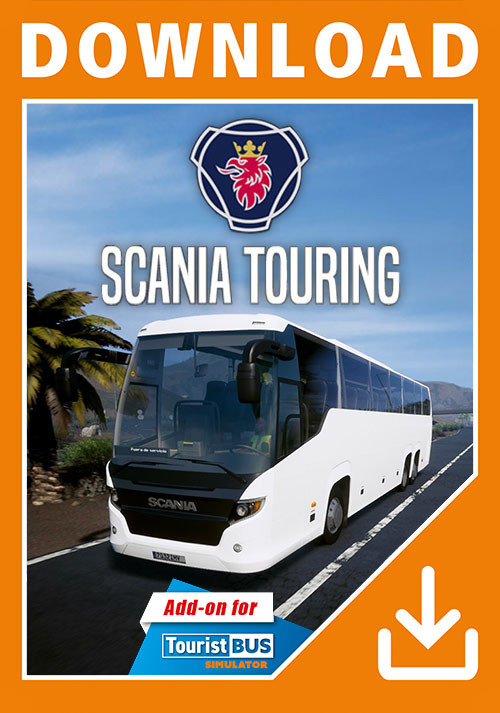 Tourist Bus Simulator - Scania Touring - Cover / Packshot