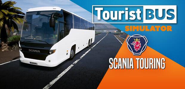 Tourist Bus Simulator - Scania Touring - Cover / Packshot
