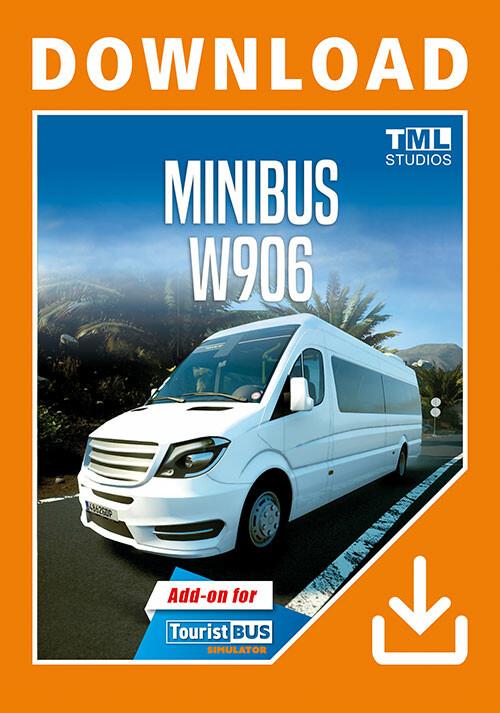 Tourist Bus Simulator - W906 - Cover / Packshot