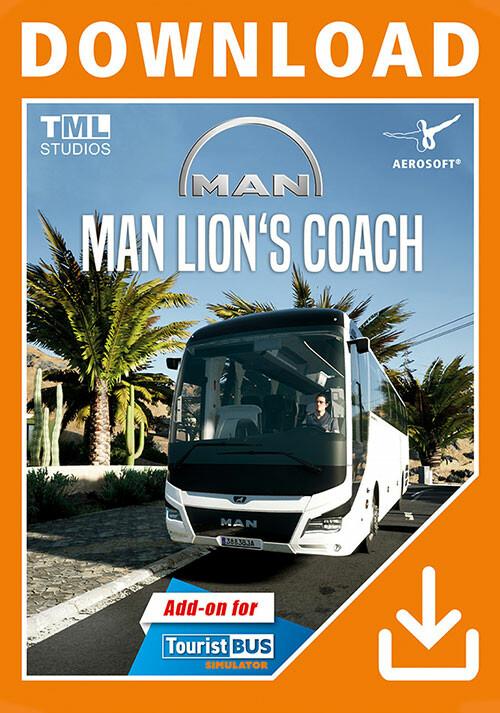 Tourist Bus Simulator - MAN Lion's Coach 3rd Gen - Cover / Packshot