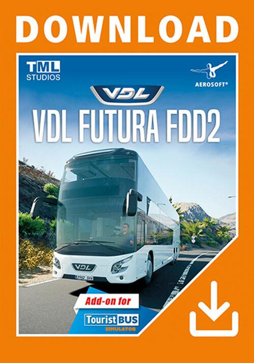 Tourist Bus Simulator - VDL Futura FDD2 - Cover / Packshot