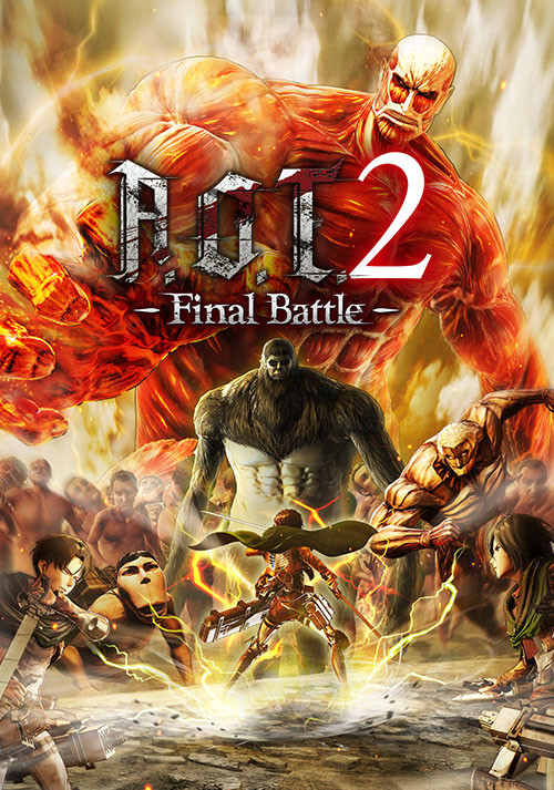 Attack on Titan 2: Final Battle Upgrade Pack / A.O.T. 2: Final Battle Upgrade Pack / 進撃の巨人2 -Final Battle- アップグレードパック - Cover / Packshot