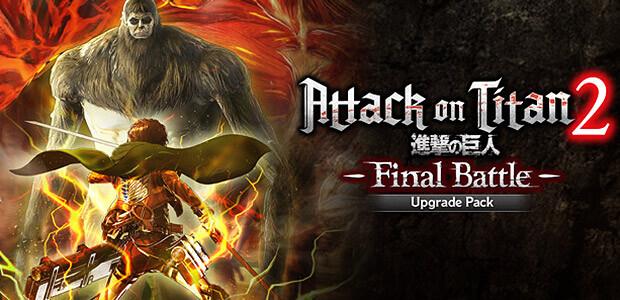 Attack on Titan 2: Final Battle Upgrade Pack - Cover / Packshot