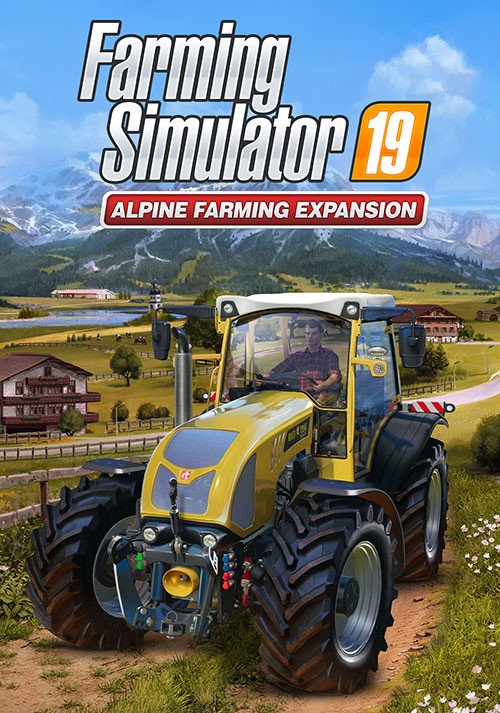 Farming Simulator 19 - Alpine Farming Expansion (Giants) - Cover / Packshot