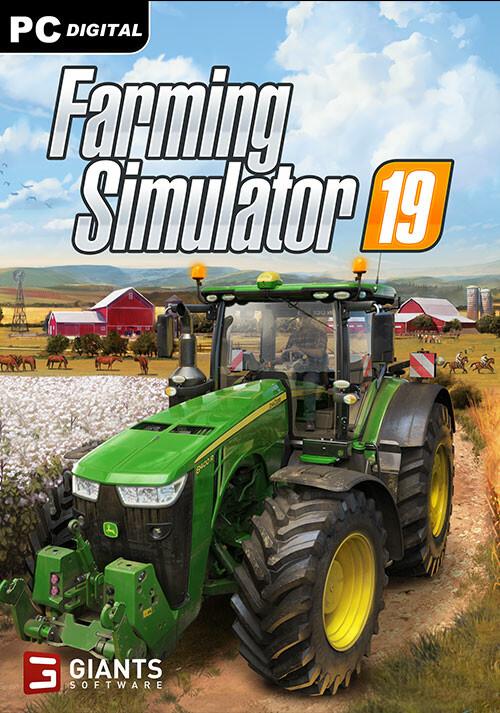 Farming Simulator 19 (Giants) - Cover / Packshot