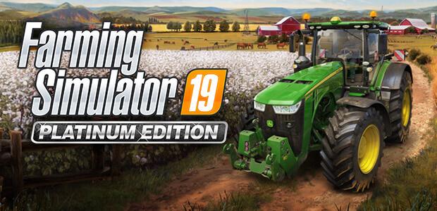 Farming Simulator 19 - Platinum Edition (Steam) - Cover / Packshot