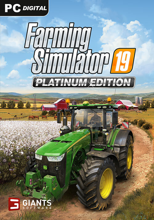 Farming Simulator 19 - Platinum Edition (Giants) - Cover / Packshot