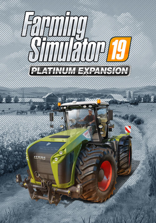 Farming Simulator 19 - Platinum Expansion (Steam) - Cover