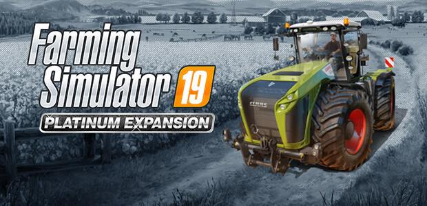 Farming Simulator 19 - Platinum Expansion (Steam) - Cover / Packshot