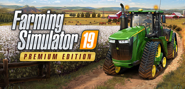 Farming Simulator 19 - Premium Edition (Steam) - Cover / Packshot