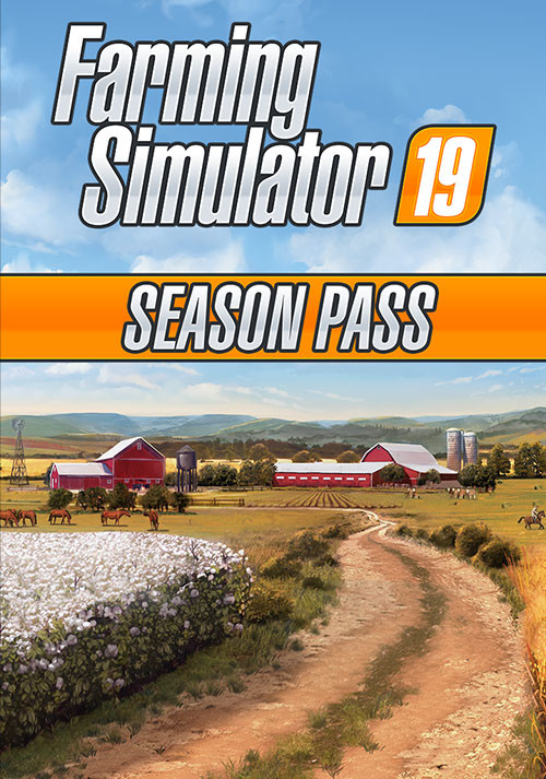 Farming Simulator 19 - Season Pass (Steam) - Cover / Packshot