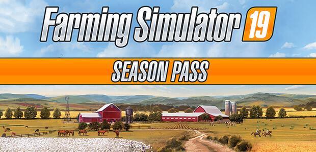 Farming Simulator 19 - Season Pass (Steam) - Cover / Packshot